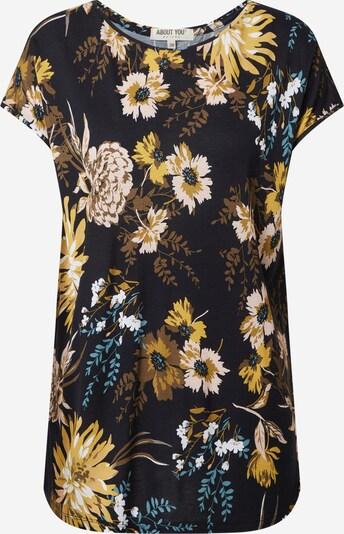 ABOUT YOU Shirt 'Fergie' in de kleur Gemengde kleuren / Zwart, Productweergave