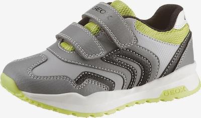 GEOX Kids Sneakers in gelb / grau / schwarz, Produktansicht