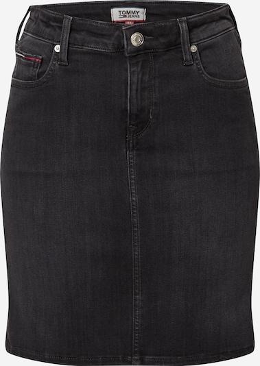 Tommy Jeans Rock in black denim, Produktansicht