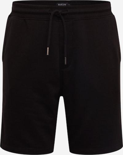 BURTON MENSWEAR LONDON Sweatshorts in schwarz, Produktansicht