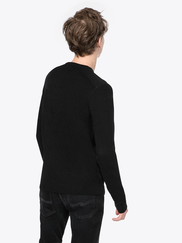 NEW LOOK Pullover 'RP 39 11.08 MW ACRYLIC KNITTED PATCH P'