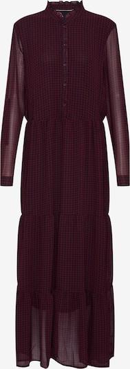 Rochie tip bluză 'Daphine' ONLY pe roșu vin / negru, Vizualizare produs