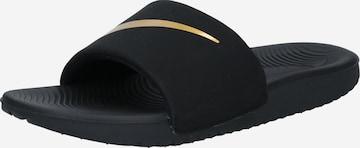 NIKE Beach & swim shoe 'Kawa' in Black