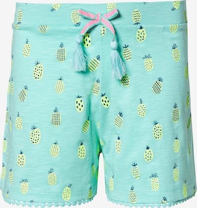 STACCATO Shorts in hellblau / dunkelblau / gelb / jade / pink, Produktansicht