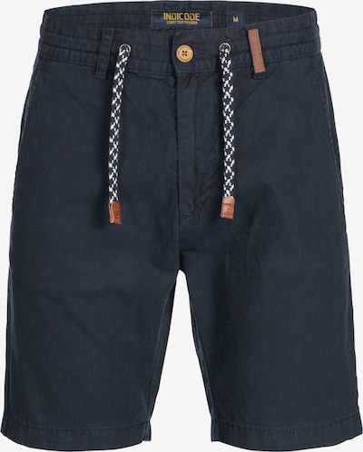 INDICODE JEANS Shorts 'Bowmanville' in navy: Frontalansicht
