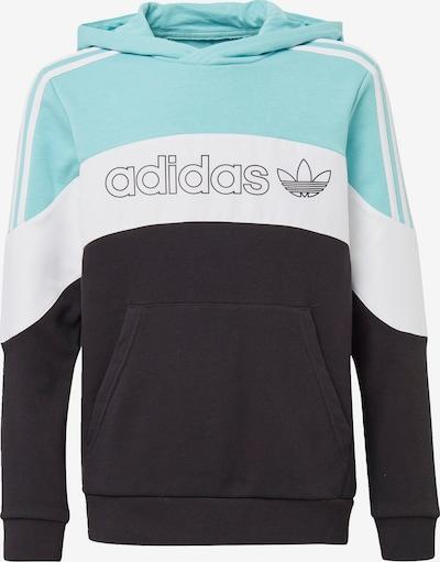 ADIDAS ORIGINALS Majica 'BX-20' | svetlo modra / črna / bela barva, Prikaz izdelka
