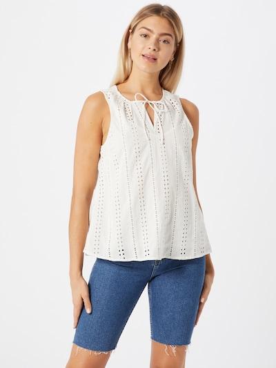 OBJECT Bluse 'Erin' in weiß, Modelansicht