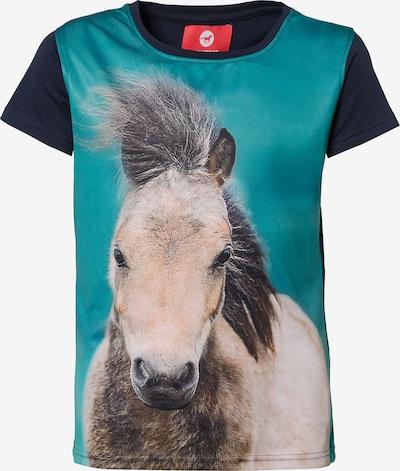 RED HORSE T-Shirt 'HORSY' in mischfarben, Produktansicht