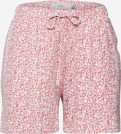 ICHI Spodnie 'IHLISA SHO5' w kolorze różowy / czerwony / białym, Podgląd produktu