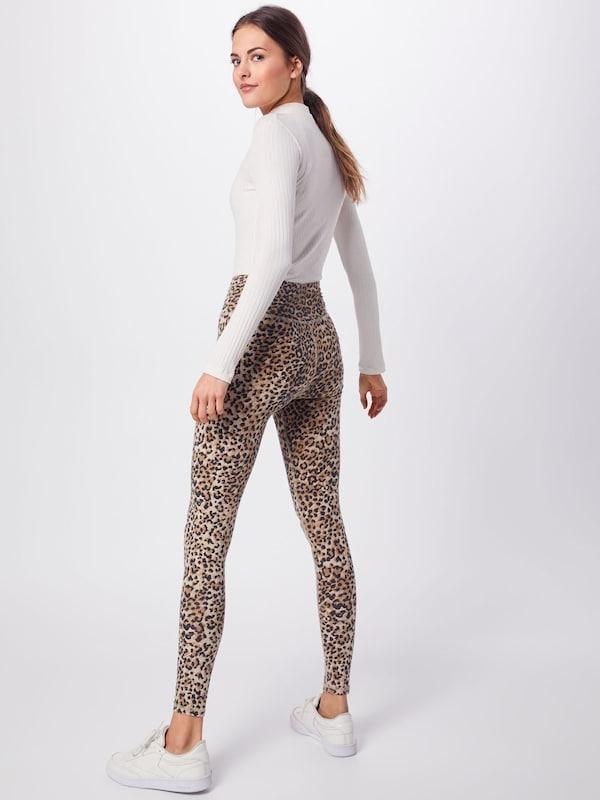 En 'leopard Leggings' Leggings Marron Ragdoll La wkX80OPn