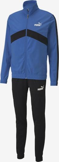 PUMA Trainingsanzug 'Classic' in blau / schwarz / weiß, Produktansicht