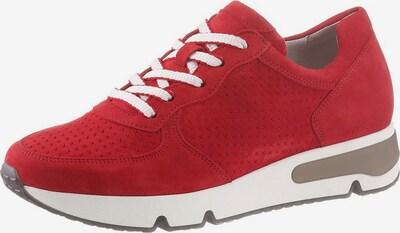 GABOR Sneaker in rot, Produktansicht