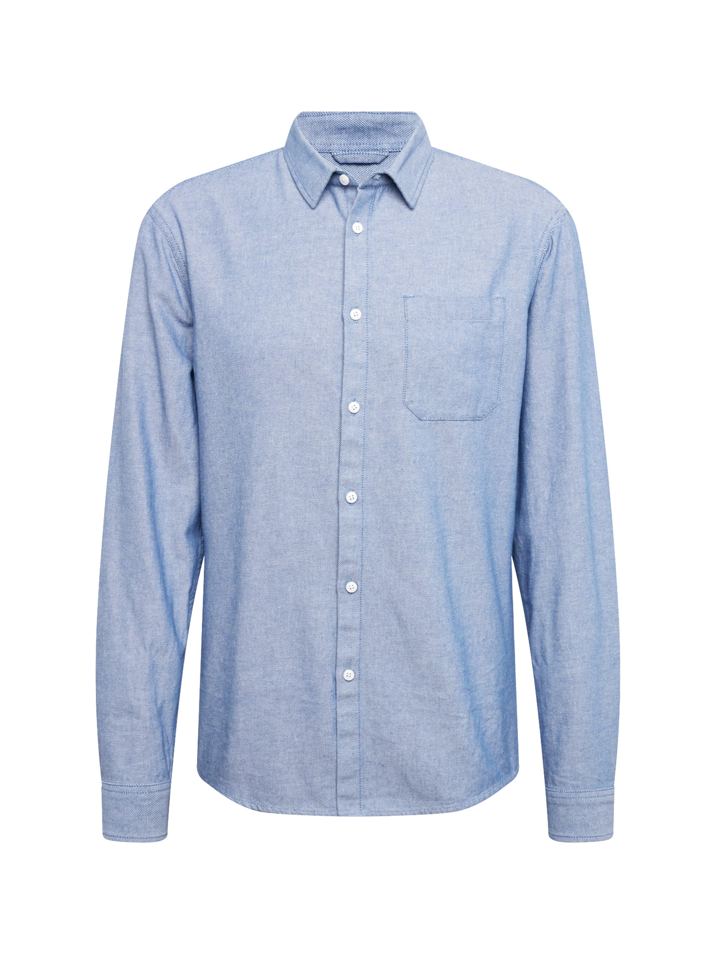 Review In Indigo Hemd Shirt' 'light Str KJTF15ulc3