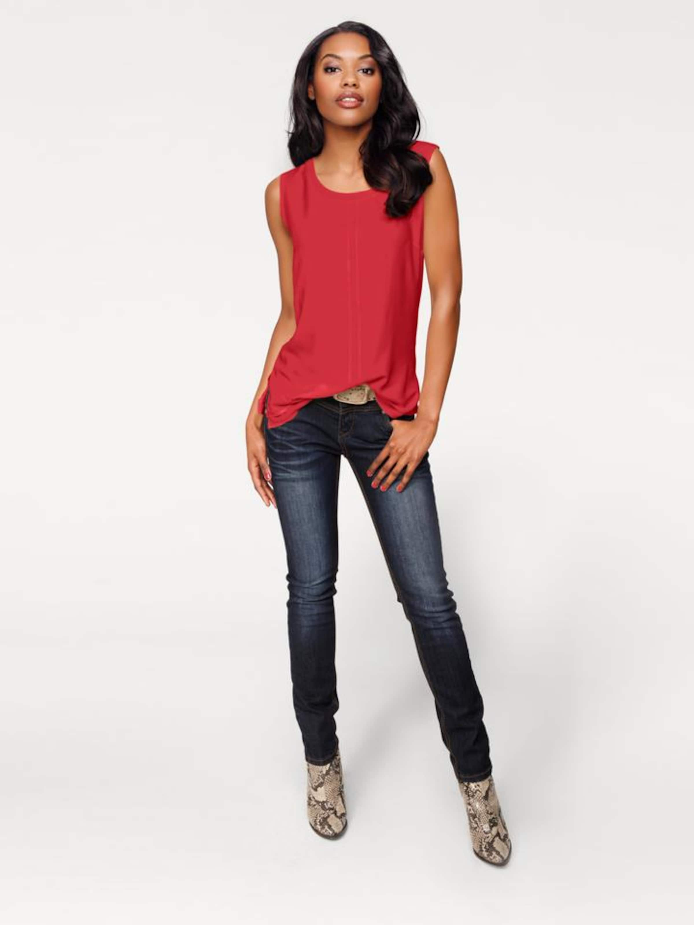 Heine In Shirttop In Heine Rot Shirttop 8kwPOXn0