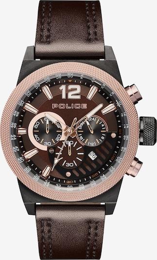 POLICE Uhr 'Ladbroke PL15529JSBBN.12' in braun, Produktansicht