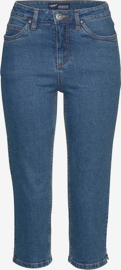 ARIZONA Caprijeans 'Comfort-Fit' in blue denim, Produktansicht