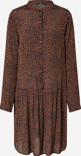 SET Dolga srajca | rjasto rjava / črna barva, Prikaz izdelka