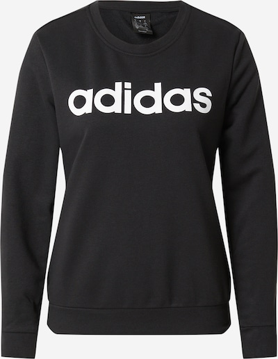 ADIDAS PERFORMANCE Sweat de sport en noir: Vue de face