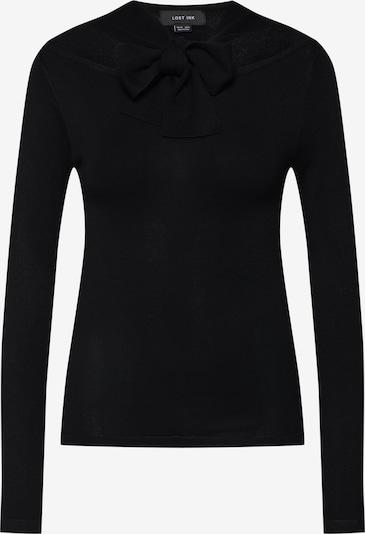 Lost Ink Pullover in schwarz, Produktansicht