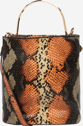 NA-KD Handtasche in beige / braun / schwarz, Produktansicht