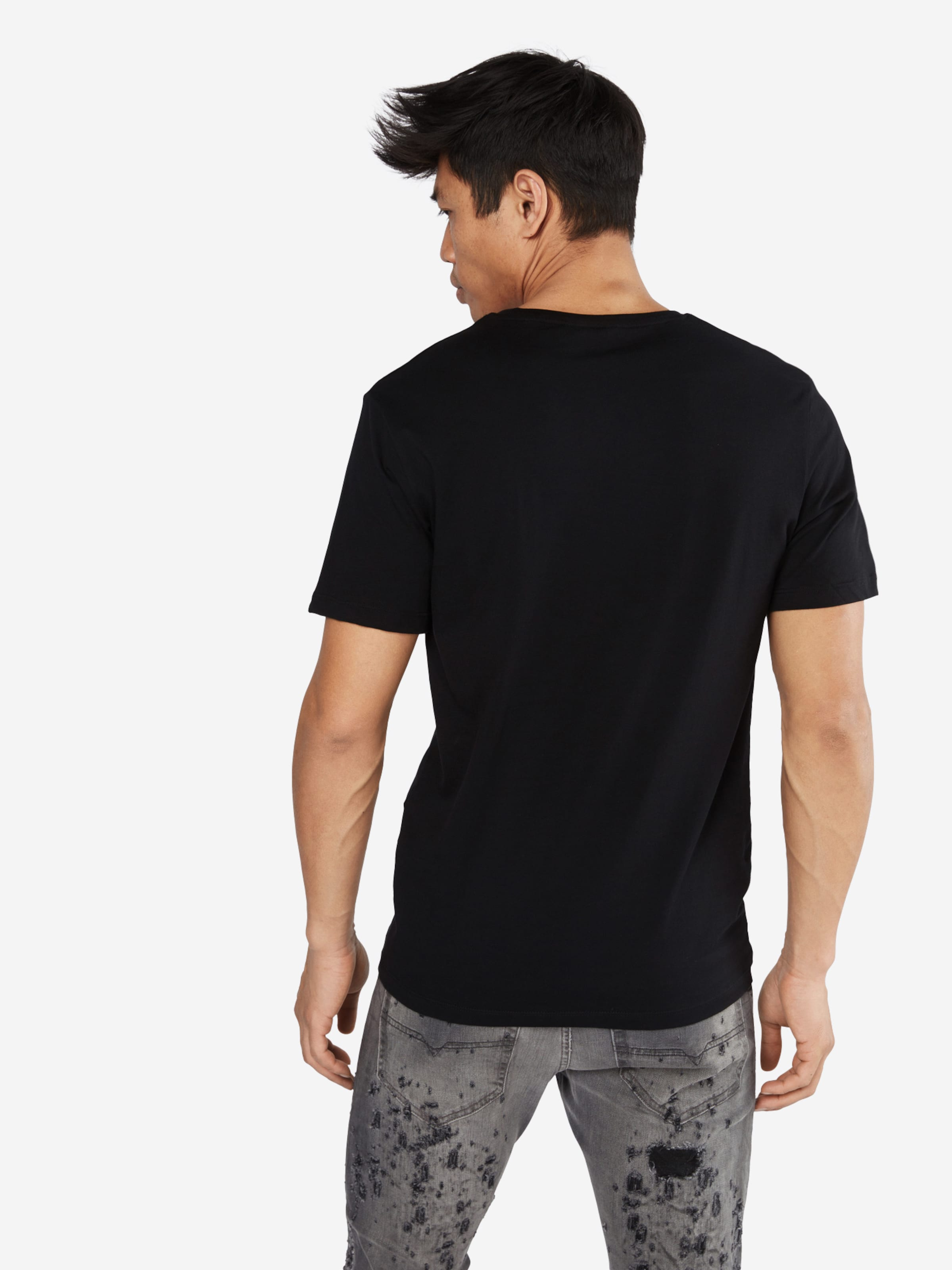 Only & Sons T-Shirt 'ROSE EMBRODIDERY POCKET TEE' Outlet Rabatt Verkauf kMCSo