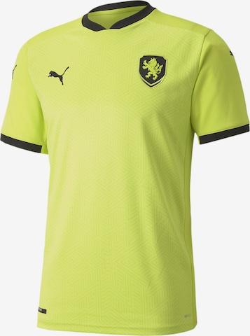 PUMA Jersey 'FACR Tschechien Away EM 2020' in Green
