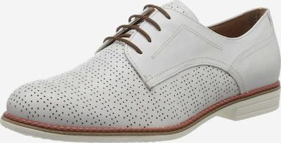 TAMARIS Schnürschuhe in weiß, Produktansicht