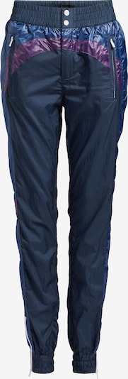 khujo Hose 'Kyrie' in navy / dunkelblau / dunkellila, Produktansicht