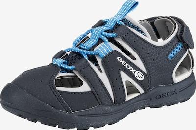 GEOX Kids Sandale 'Vaniette Boy' in blau / kobaltblau, Produktansicht