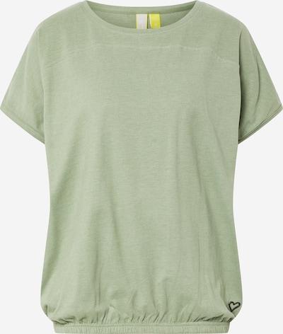Alife and Kickin T-shirt 'Dini' en vert, Vue avec produit