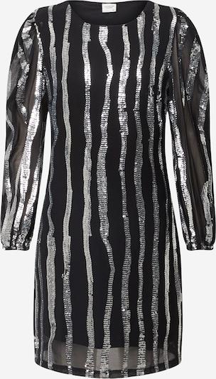 JACQUELINE de YONG Kleid in schwarz / silber, Produktansicht