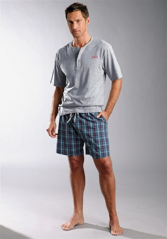 s.Oliver Pyjamas kort i blå