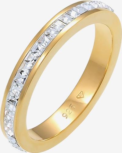 ELLI PREMIUM Ring in gold / transparent, Produktansicht