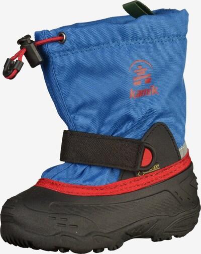 Kamik Stiefel in blau / rot / schwarz, Produktansicht