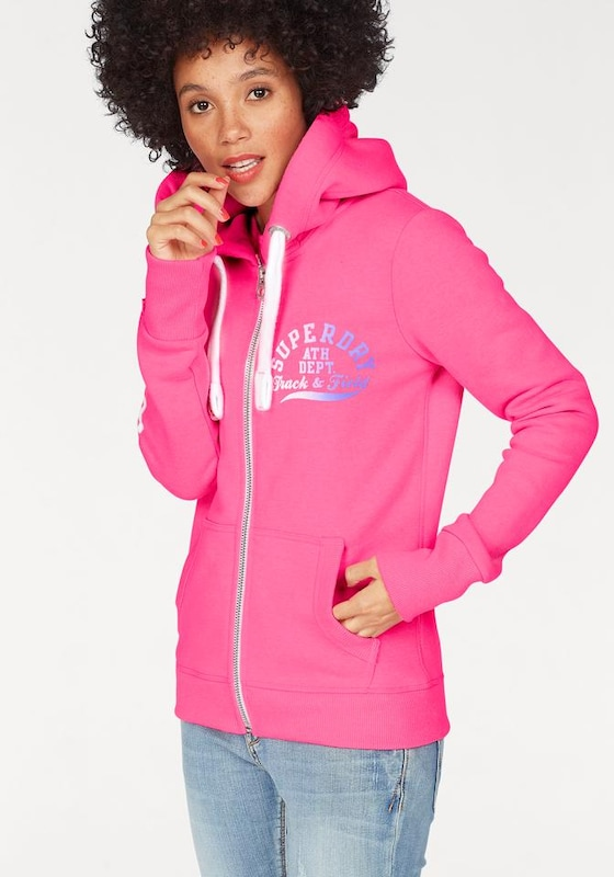 Superdry Kapuzensweatjacke »TRACK & FIELD ZIPHOOD«