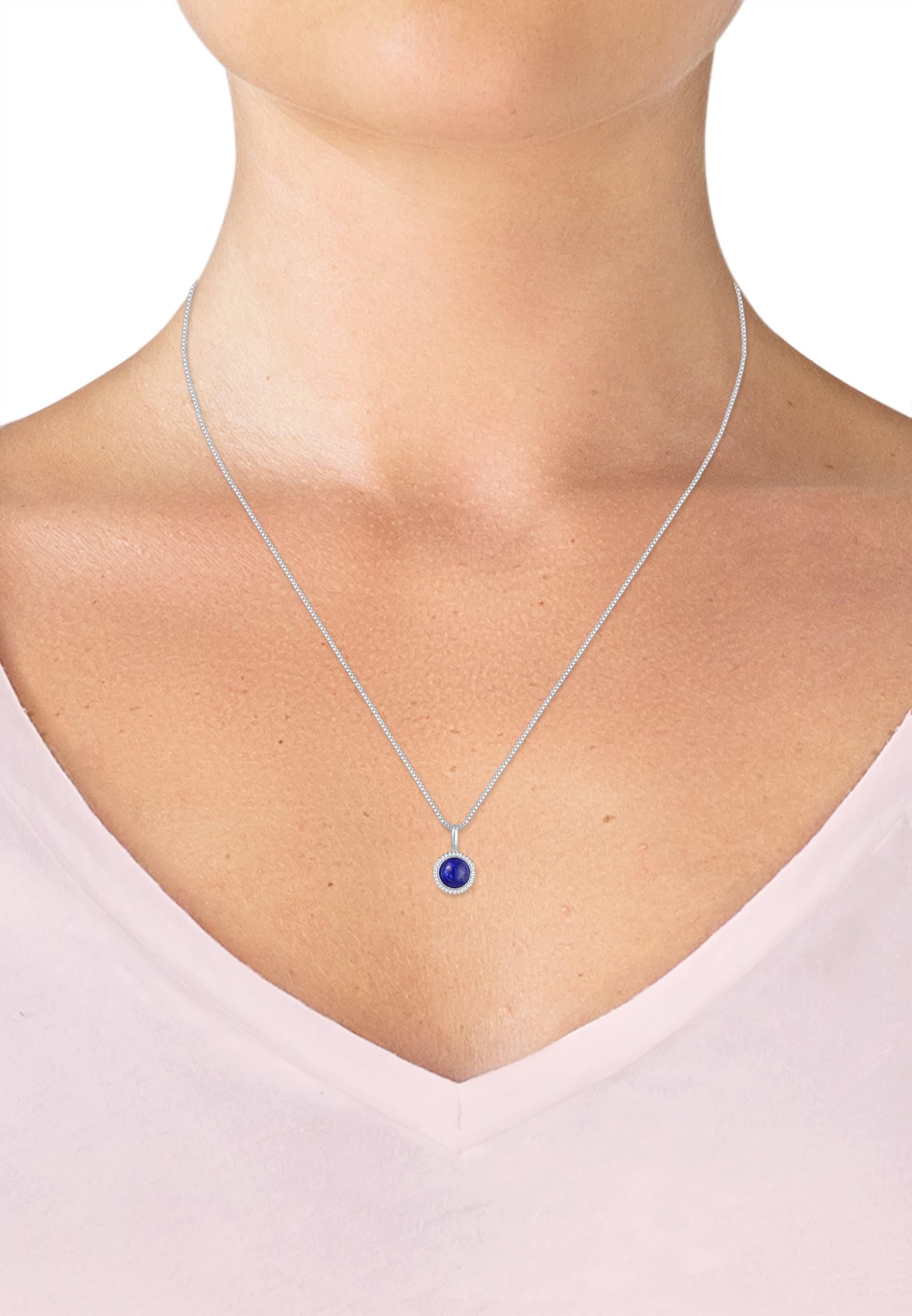 Elli Halskette In Elli Halskette In SaphirSilber 0kX8wnOP