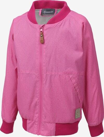 COLOR KIDS Übergangsjacke 'Enrico' in pink, Produktansicht