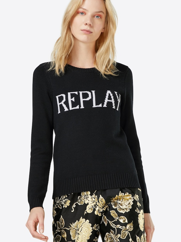 REPLAY Pullover 'Masche'