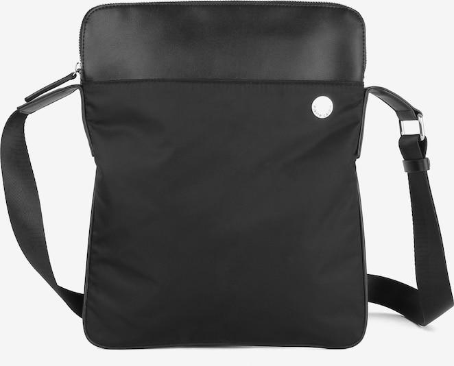 Pierre Cardin Leatherwear Schoudertas in Zwart 6FD86k0j