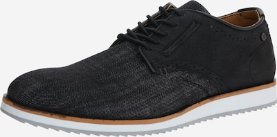 BULLBOXER Čevlji na vezalke | črna barva, Prikaz izdelka