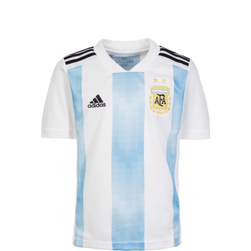 ADIDAS PERFORMANCE Trikot 'AFA Argentinien Home WM 2018' in hellblau weiß