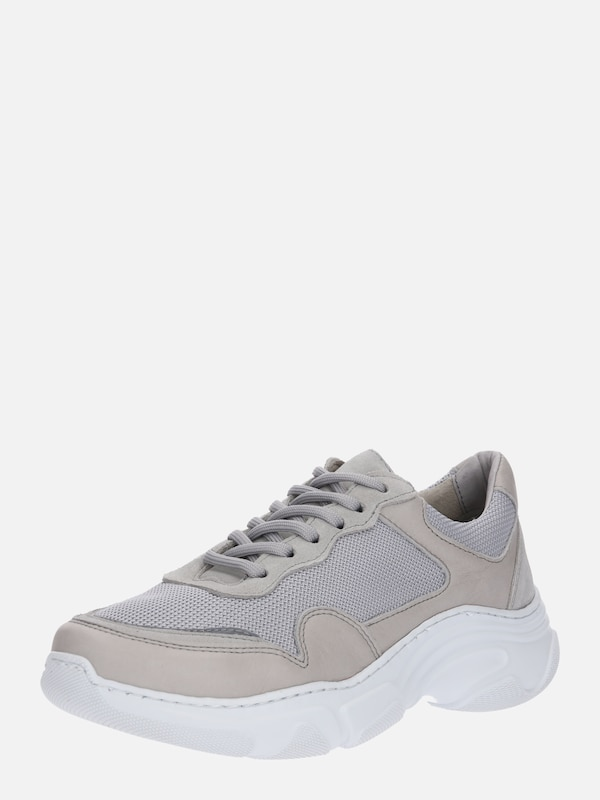 Laag Lichtgrijs Garment Sneakers 'flex' Project About You In Taupe Owq4P7xq
