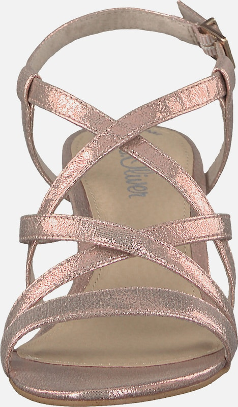 s.Oliver RED LABEL Klassische Sandaletten Hohe Qualität