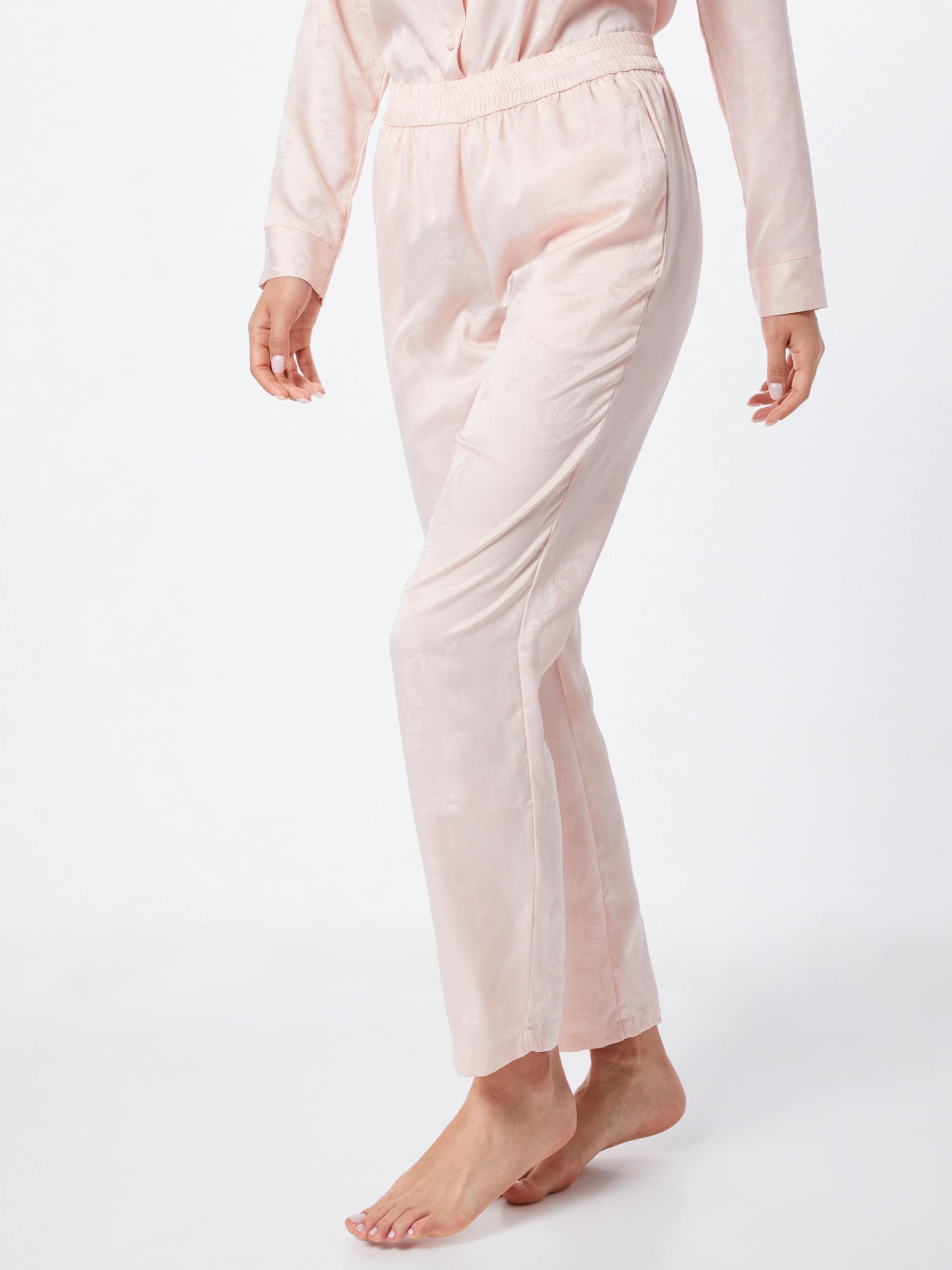 Pink Paisley' In Hunkemöller Jacquard Pyjamahose 'pant Satin nk0wOP