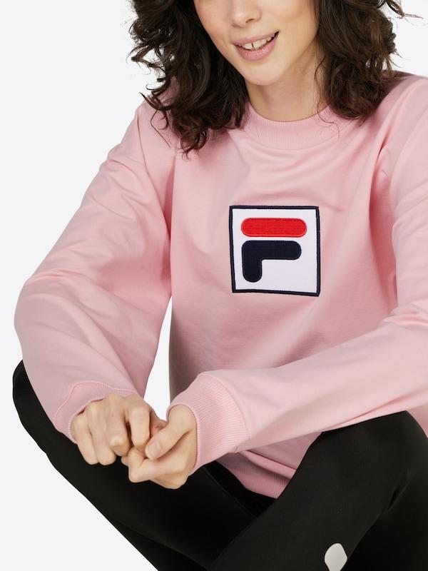 Fila Sweater Mit Logoapplikation