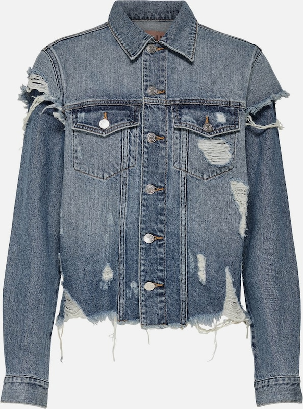 ONLY Jeansjacke 'ONLHERO' in blue denim, Produktansicht