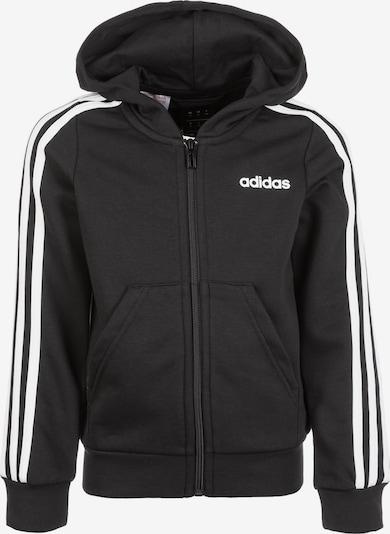 ADIDAS PERFORMANCE Sweatjacke in schwarz / weiß, Produktansicht