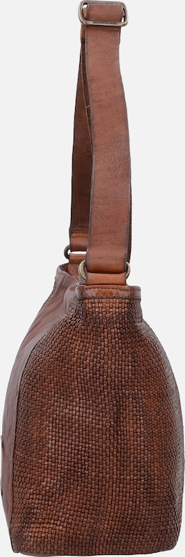 Campomaggi Prestige Schultertasche Leder 27 cm