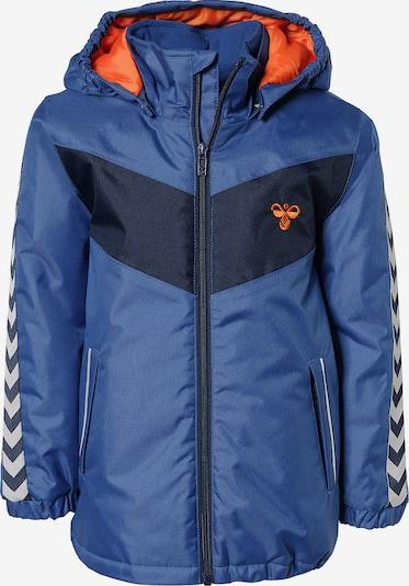 Hummel Jacke 'Jens' in blau / nachtblau / weiß, Produktansicht