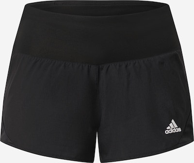 ADIDAS PERFORMANCE Laufshorts 'RUN IT' in schwarz / weiß, Produktansicht